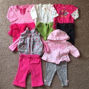 5 Newborn Coordinating Sets